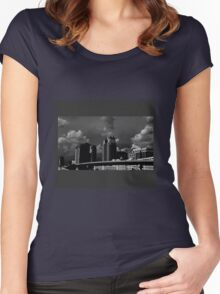 Gotham City Women's Fitted Scoop T-Shirt