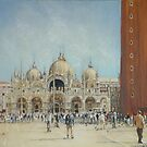 St Mark's Venice by David McEwen