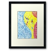 Distant And Surreal Number Two Framed Print