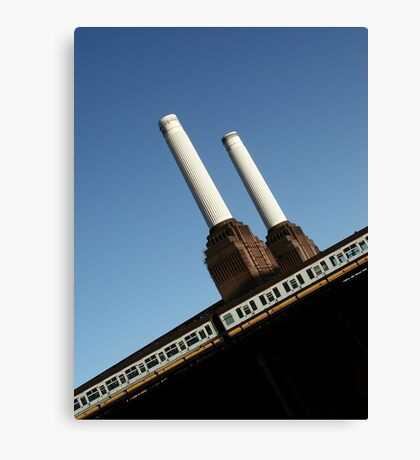 Battersea Power Station, London, England Canvas Print