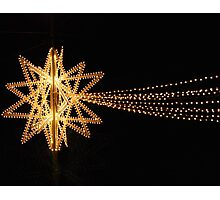 Christmas Star in Siena-Tuscany Photographic Print