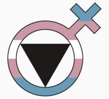 Trans Lesbian Glyph by Delia Gonzales