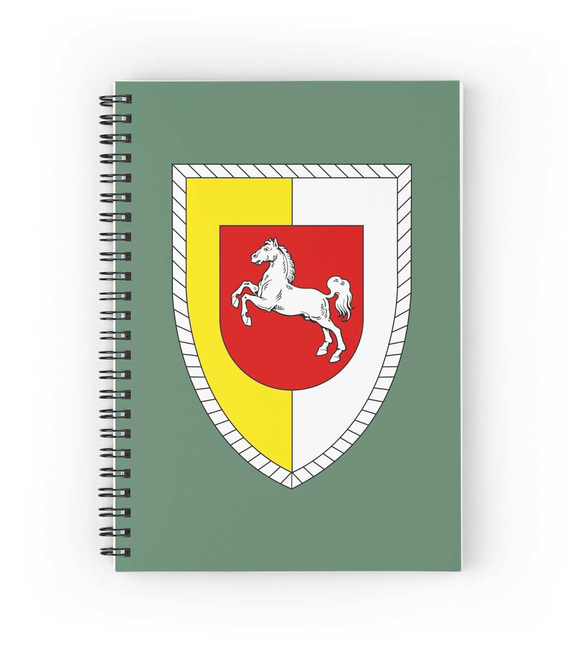 u0026quot 1st panzer division  german bundeswehr  u0026quot  spiral notebooks by wordwidesymbols