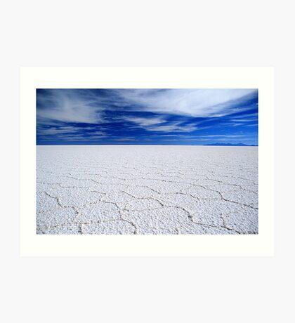 Salar de Uyuni, Bolivia Art Print