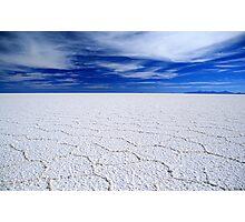 Salar de Uyuni, Bolivia Photographic Print