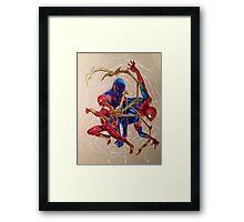 """Web of Spideys"" Framed Print"