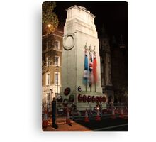 The Cenotaph at night Canvas Print