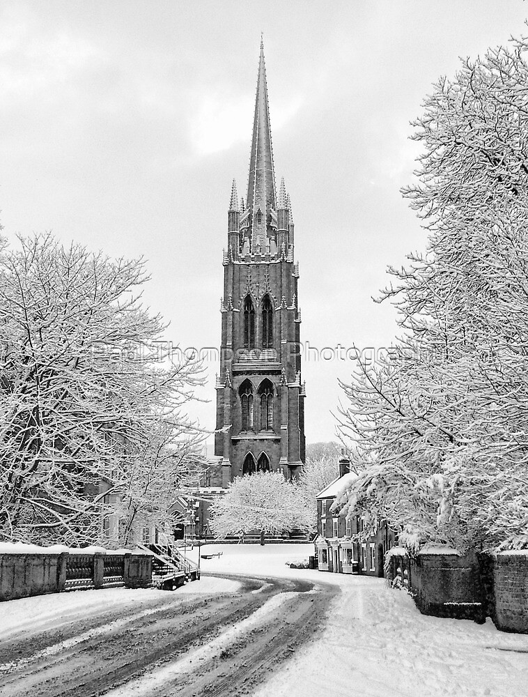 Spire of St. James Portrait by Paul Thompson Photography