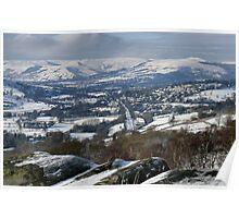 Surprise View Snowscape Poster