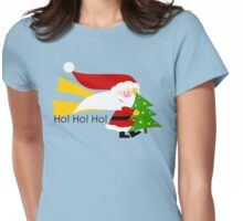Ho! Ho! Ho! Womens Fitted T-Shirt