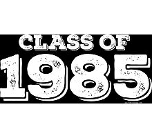 Class of 1985 Photographic Print