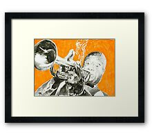 Louis . Framed Print