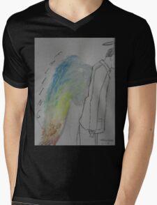 Falling Mens V-Neck T-Shirt