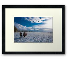 Snowscape Framed Print