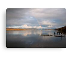 Windermere Rainbow Canvas Print