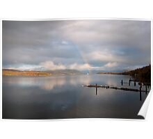 Windermere Rainbow Poster