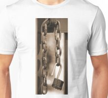 Unlocked Padlock Unisex T-Shirt