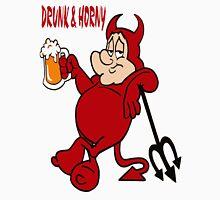 Drunken Chubby Devil  Unisex T-Shirt