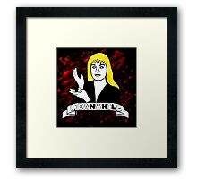 Laura Palmer Twin Peaks Framed Print