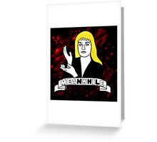Laura Palmer Twin Peaks Greeting Card