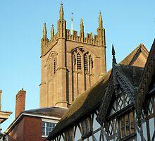 St Laurence Parish Church, Medieval Ludlow, UK by artfulvistas