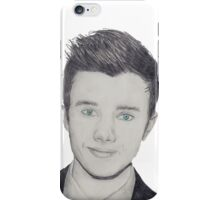 Chris Colfer - pencil  iPhone Case/Skin