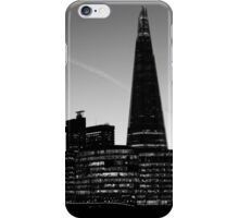 The Shard in B&W iPhone Case/Skin