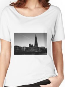 The Shard in B&W Women's Relaxed Fit T-Shirt