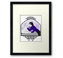 Johnlock - Pure Devotion Framed Print