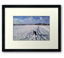 Bonnie - Bridlington Framed Print
