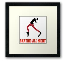 Persona 5 Skating All Night Framed Print