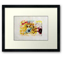 Monotype III Framed Print