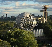 Queens, New York City - Unisphere by Frank Romeo