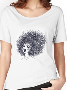 Scribble Sister 5 Women's Relaxed Fit T-Shirt
