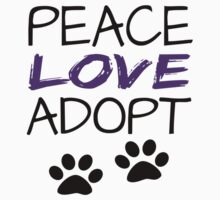 PEACE LOVE ADOPT Kids Clothes