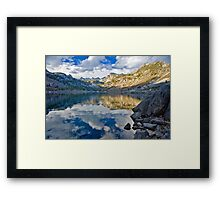 Bishop CA Sabrina Lake Fall Framed Print