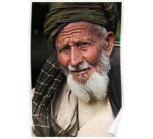 A village elder Poster