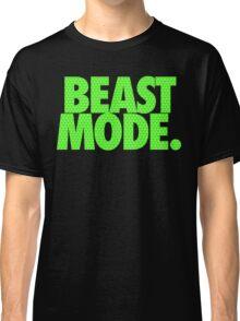 BEAST MODE. - Electric Green Classic T-Shirt