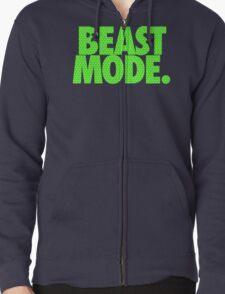 BEAST MODE. - Electric Green T-Shirt