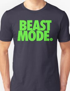 BEAST MODE. - Electric Green T-Shirt