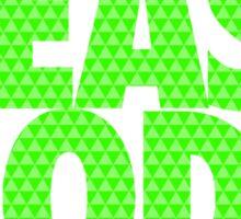 BEAST MODE. - Electric Green Sticker