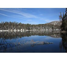 Yellowstone National Park - Mountain Lake Photographic Print