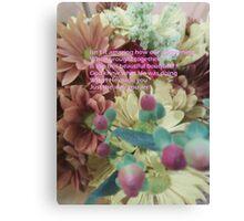 We Are God's Bouquet Canvas Print