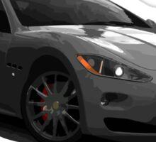 Maserati Granturismo - Grey Sticker