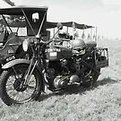 1940s Motorcycle by schiabor