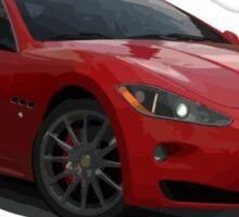 Maserati Granturismo - Red Sticker