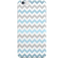 Blue Chevrons iPhone Case/Skin