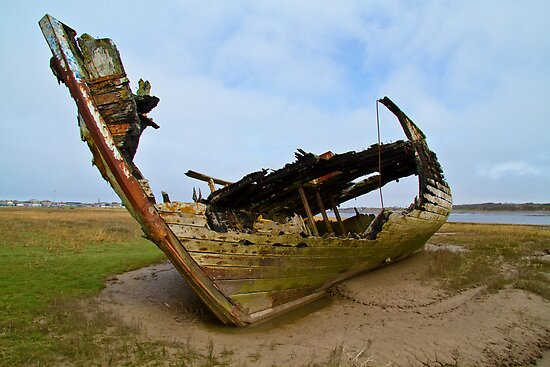Marsh Wreck  by Peter Stone