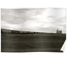 A Train across the prairies  Poster