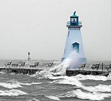 port dalhousie lighthouse by Brock Hunter